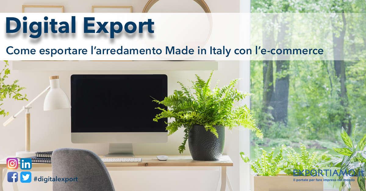 Arredamento Made In Italy.Come Esportare L Arredamento Made In Italy Con L E Commerce