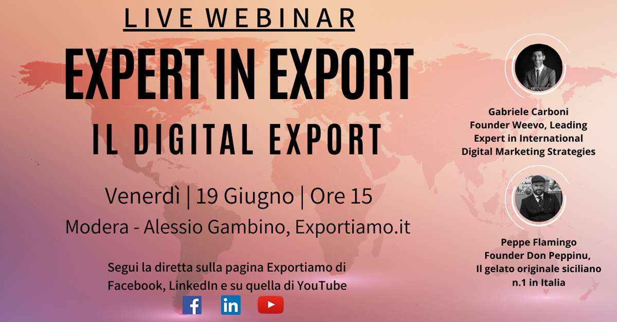 Expert in Export - X Puntata: Il Digital Export
