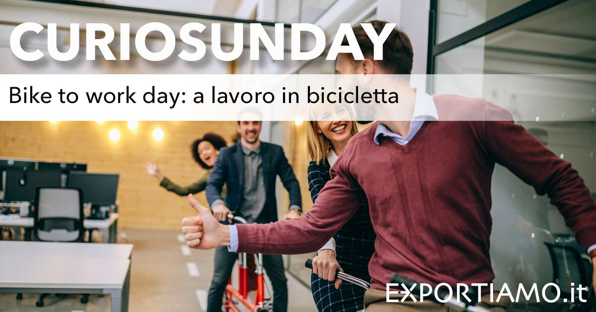 Bike to work day: a lavoro in bicicletta