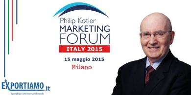 Ecco il nostro reportage dal Philip Kotler Marketing Forum