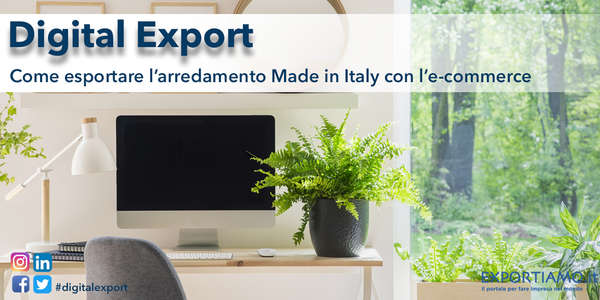 Come esportare l'arredamento Made in Italy con l'e-commerce