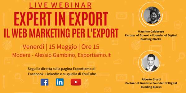 Expert in Export - V Puntata: il Web Marketing per l'Export