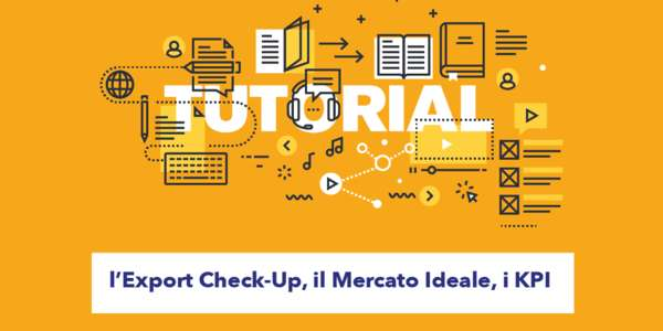 Tutorial, l'Export Check-Up, il Mercato Ideale, i KPI