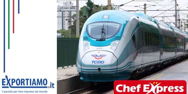 Chef express a bordo dei treni turchi